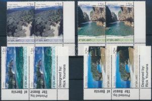 1999 Természet ívsarki sor párokban Mi 926-929