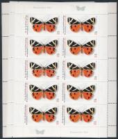 2005 Pillangók kisívsor Mi 2500-2503