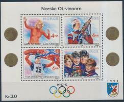 1989 Téli olimpia blokk Mi 12
