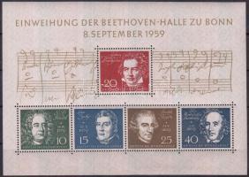 1959 Beethoven blokk Mi 2