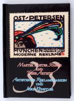Master poster stamps and their artists / Artistische Reklamienmarken und Ihre Künstler. KÉtnyelvű minikönyv a levélzárókról. Sorszámozott, csak 200 pld! / Numbered, only 200 copies!