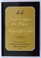Jewish bookplates from Hungary / Zsidó ex librisek. Kétnyelvű minikönyv. 2014. Sorszámozott, csak 200 pld! / Numbered, only 200 copies!