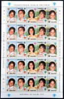 1979 Nemzetközi gyermekév kisív Mi 198-202