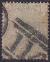 1877 Forgalmi Mi 48 (rozsda/stain)