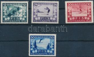 1933 FIS VB Mi 551-554