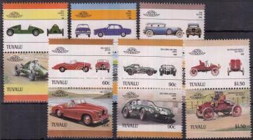 Cars (IV.) set in pairs (Mi 403 hinged), Autók (IV.) sor párokban (Mi 403 falcos)