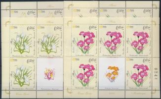 2008 Virágok kisívsor Mi 160-163