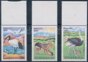 2012 Állatok ívszéli sor Mi 1046-1048