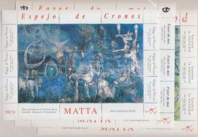 2008 Roberto Matta festmények kisívsor Mi 2258-2284