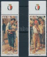 2014 Europa CEPT Hangszerek ívszéli sor Mi 1848-1849
