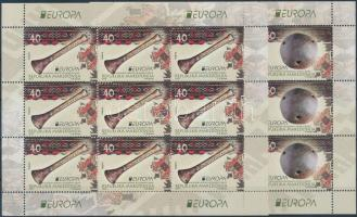 2014 Europa CEPT Hangszerek kisívpár Mi 694-695