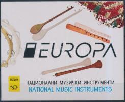 2014 Europa CEPT Hangszerek bélyegfüzet Mi MH 2