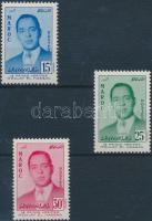 1957 Moulay el Hassan sor Mi 426-428