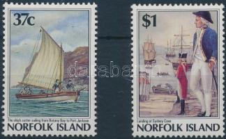 1988 A szigetek gyarmatosítása sor Mi 432-433