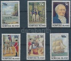 1988 A szigetek gyarmatosítása sor Mi 434-439