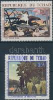 Henri Rousseau paintings set, Henri Rousseau festmények sor