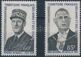 1971 Charles de Gaulle sor Mi 57-58