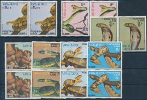 1987 Kígyó sor párokban Mi 929-935