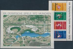 1972 Nyári olimpia blokkpár Mi 7-8