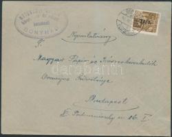 1946 (7.díjszabás) Nyomtatvány Betűs I. Tl.I/10f bérmentesítéssel