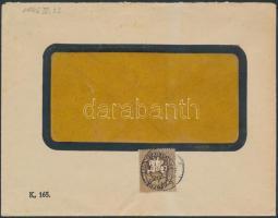 1946 (9.díjszabás) Helyi levél Lovasfutár 20eP bérmentesítéssel
