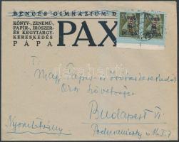 1946 (8.díjszabás) Nyomtatvány Betűs II. Hlp.2./8P bérmentesítéssel