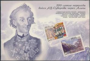 1999 Háborús évforduló kisívsor ajándékfüzetben Mi 749-750