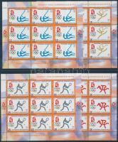 2008 Nyári olimpia kisívsor Mi 469-472