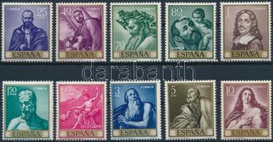 1963 Festmények sor Mi 1384-1393