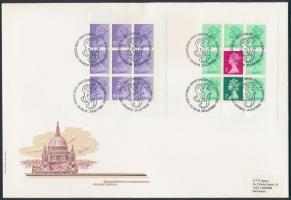 1982 2 klf bélyegfüzetlap Mi H-Blatt 106-107 FDC