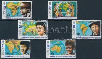 1996 UNICEF sor Mi 727-732