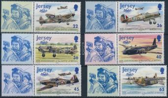 2000 A repülés története (VII) ívszéli sor Mi 951-956