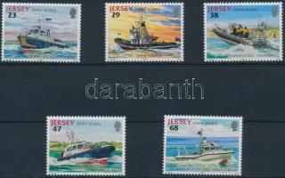 2002 Állami tulajdonban lévő hajók sor Mi 1012-1016