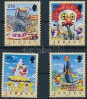 2002 Europa CEPT cirkusz sor Mi 1019-1022