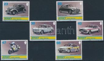 2002 Rendőrségi járművek sor Mi 1028-1033