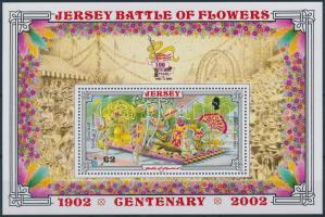 2002 Battle of Flowers virágfesztivál blokk Mi 33
