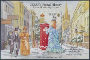 2002 A posta története (I) blokk Mi 35