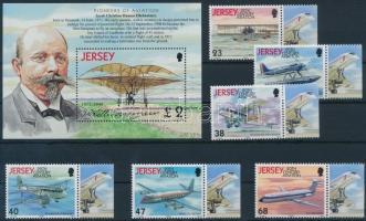 2003 A repülés története (VIII) sor Mi 1062-1067 + blokk Mi 36