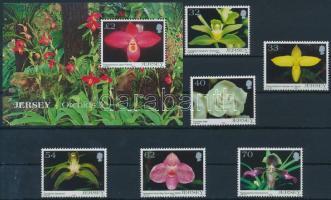 2004 Orchideák (V) sor Mi 1129-1134 + blokk Mi 44