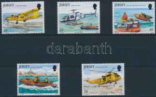 2005 Légi- és tengeri mentőszolgálat sor Mi 1163-1167