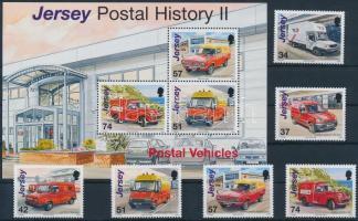 2006 Szállító járművek sor Mi 1255-1260 + blokk Mi 59