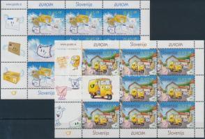 2008 Europa CEPT: A levél kisív sor Mi 682-683