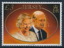 2007 Erzsébet királynő és Fülöp herceg házassági évfordulója Mi 1327