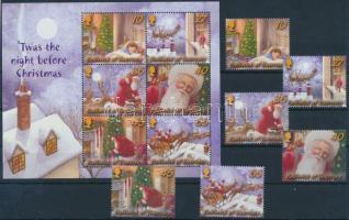 2003 Karácsony sor Mi 984-989 + blokk Mi 35