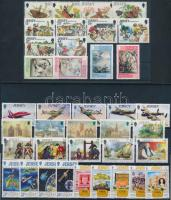 1991-1992 38 klf bélyeg teljes sorokban 2 stecklapon