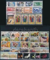 1993 42 klf bélyeg teljes sorokban 2 stecklapon