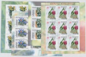 2008 Virágok kisív sor Mi 474-477