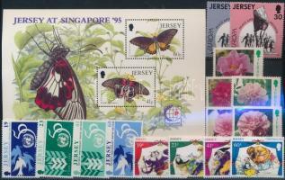 1995 15 klf bélyeg teljes sorokban + 1 blokk