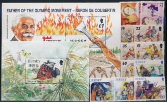 1996 11 klf bélyeg teljes sorokban + 2 klf blokk