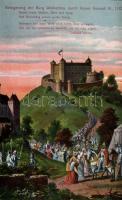 1140 Weinsberg, Burgruine Weibertreu / castle, siege during Kaiser Konrad III